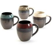 Gibson Everyday Soroca 4-Piece Mug Set