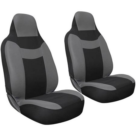 Oxgord 2 Piece Integrated Flat Cloth Bucket Seat Covers