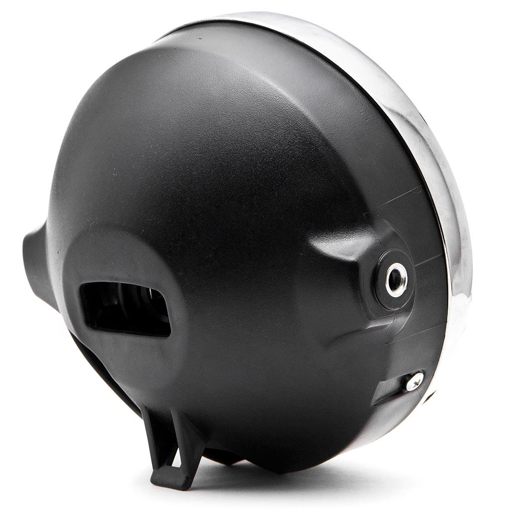 Krator 7.75'' Chrome Headlight H4 Bulb Round Lamp for Harley Davidson Screamin Eagle - image 1 of 6