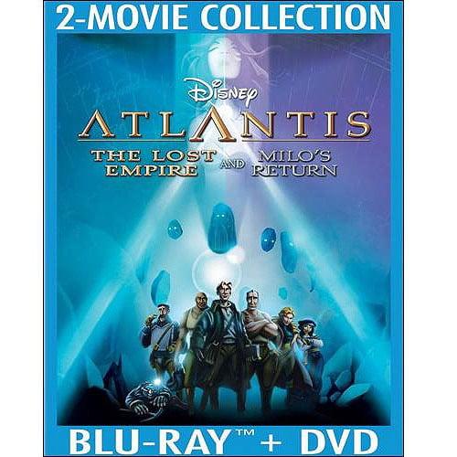 Atlantis: The Lost Empire   Atlantis: Milo's Return (Blu-ray + DVD) (Widescreen) by DISNEY/BUENA VISTA HOME VIDEO