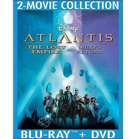 Atlantis  The Lost Empire   Atlantis  Milos Return  Blu Ray   Dvd   Widescreen
