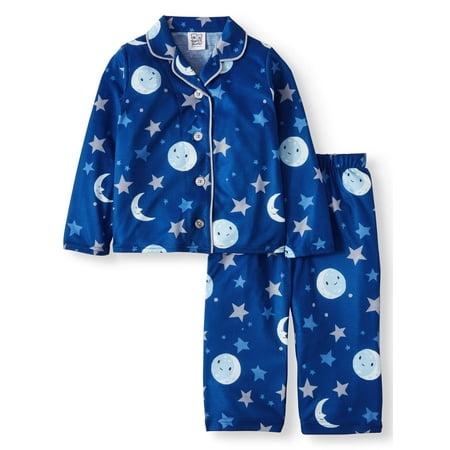 Classic Notched Collar Coat (Classic Notch Collar Coat Set Pajamas, 2-piece Set (Toddler Boys or Toddler Girls)