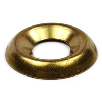 #8 Brass Cup Washers QTY 100