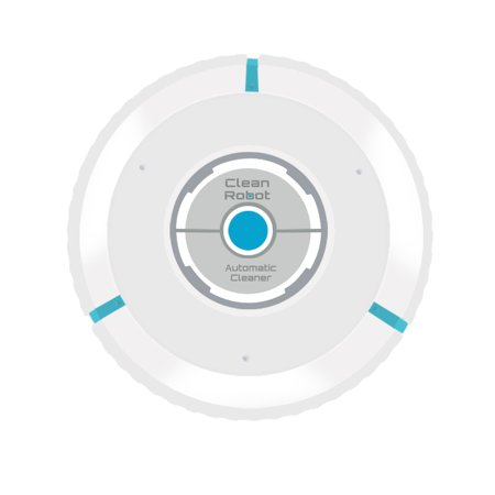 Home Automatic Vacuum Smart Floor Cleaning Robot Auto Cleaner Sweeper Dust Hair Paper Dirt Magic Broom