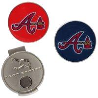 Atlanta Braves Hat Clip & Ball Markers Set
