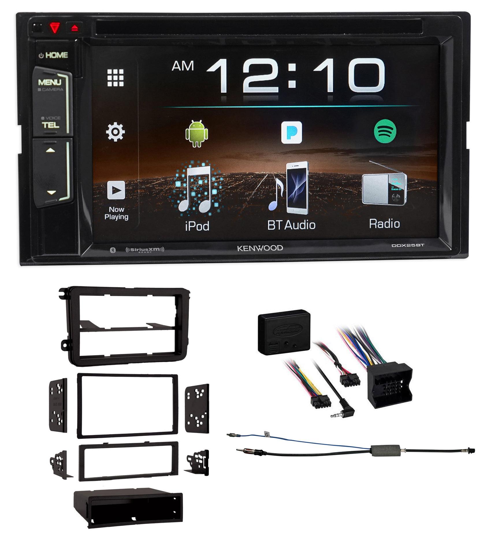 Kenwood DVD iPhone Bluetooth Pandora USB Receiver For 2008-11 Volkswagen Gli VW by Kenwood