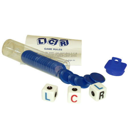 Left Center Right Dice Game - Blue ()