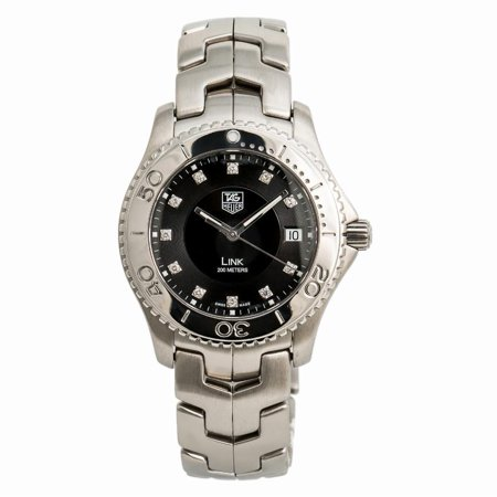 Pre-Owned Tag Heuer Link WJ1113.B Steel  Watch (Certified Authentic & Warranty) New Tag Heuer Link