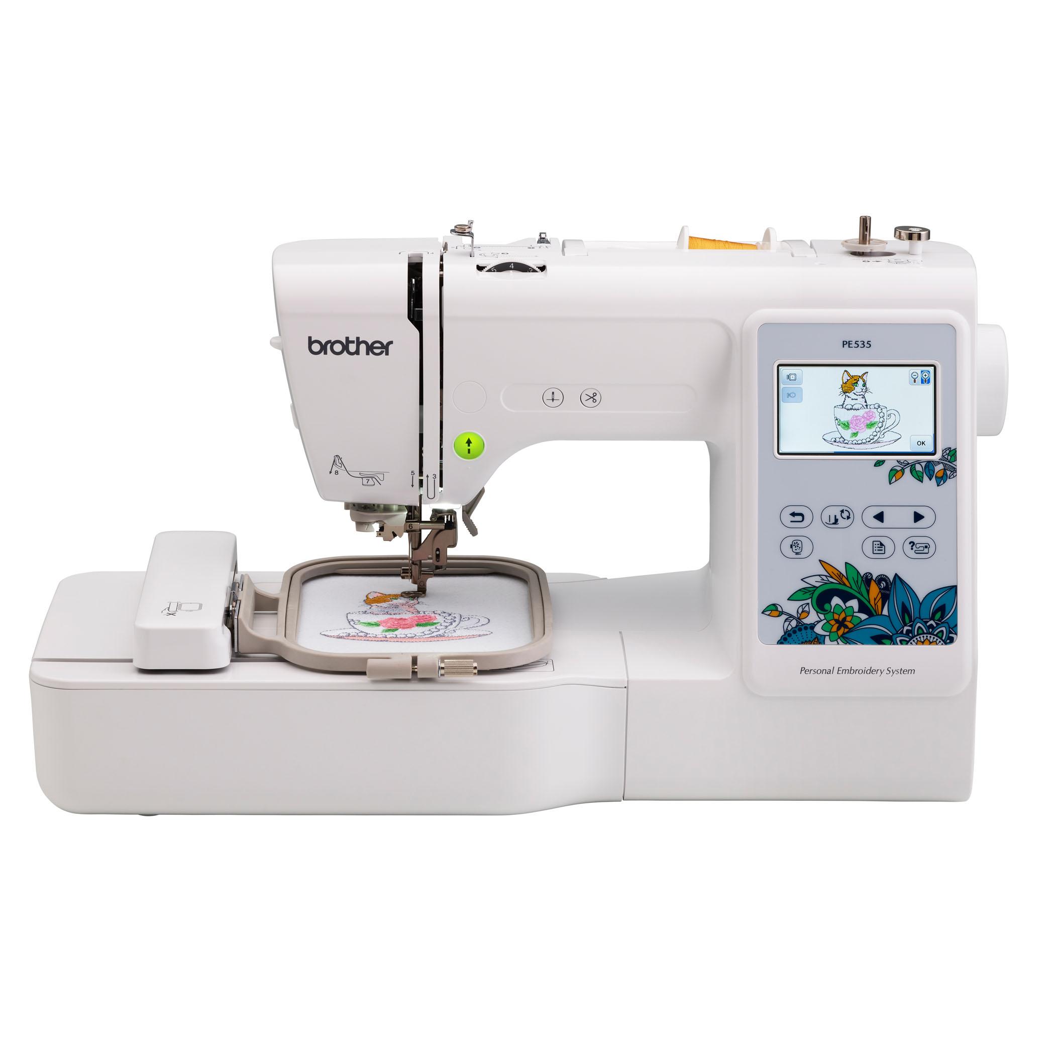 Brother, PE535 Embroidery Machine with Built-in designs