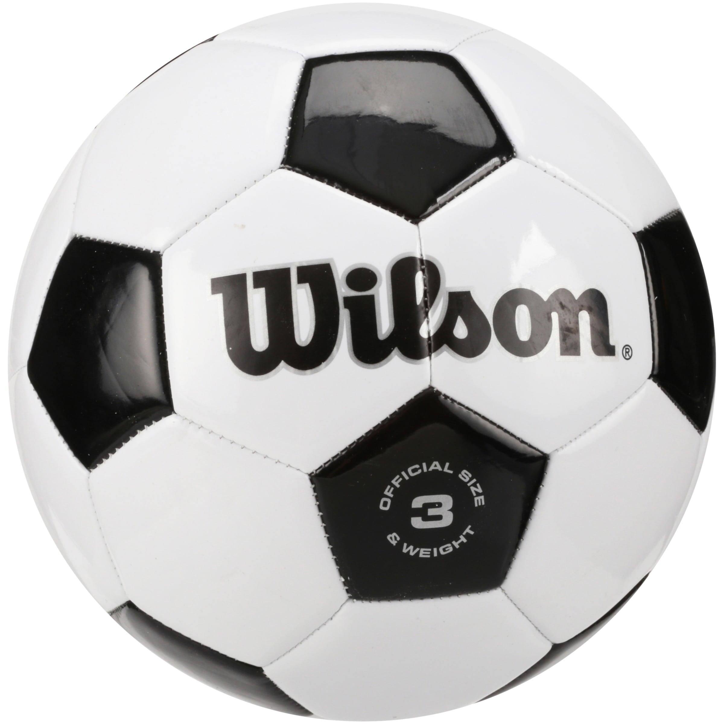 Wilson Traditional Black White Soccer Ball by Wilson Sporting Goods