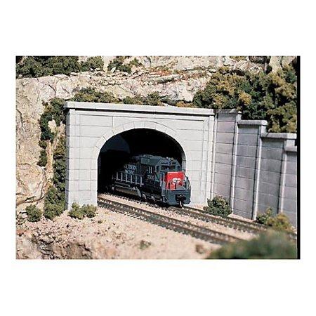 Woodland Scenics Ho Tunnel Portal (Woodland Scenics - Concrete Double Portal HO  -)