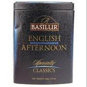 "Basilur English Afternoon Loose Leaf Tea ""Specialty Classics"" in Tin Caddy 100g/3.5oz"