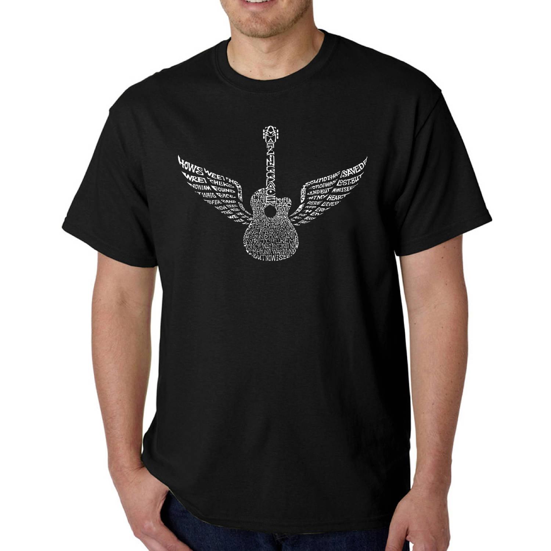 Los Angeles Pop Art Men's T-shirt - Amazing Grace