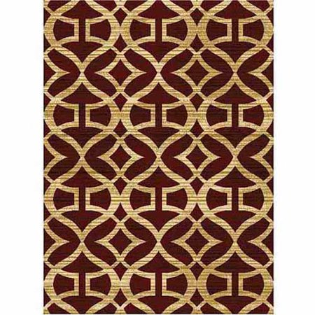 Home Dynamix Royalty Collection Area Rug Red