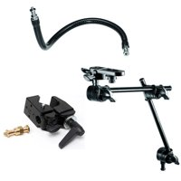 Manfrotto Flex Arm with Super Clamp and 196B-2-Section Single Articulated Arm