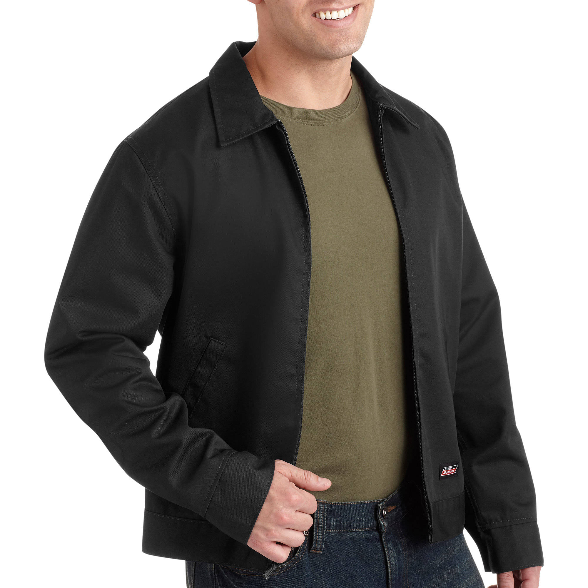 Genuine Dickies Men39;s Lined Service Jacket  Walmart.com