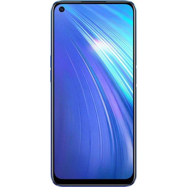 Realme 6 RMX2001 128GB 4GB RAM GSM only, No CDMA) International Version - No Warranty (Comet Blue)