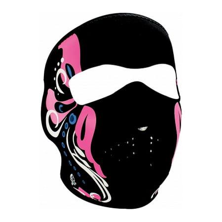 Youth Neoprene Face Mask Full - Mardi Gras - Outdoor](Mardi Gras Full Face Masks)