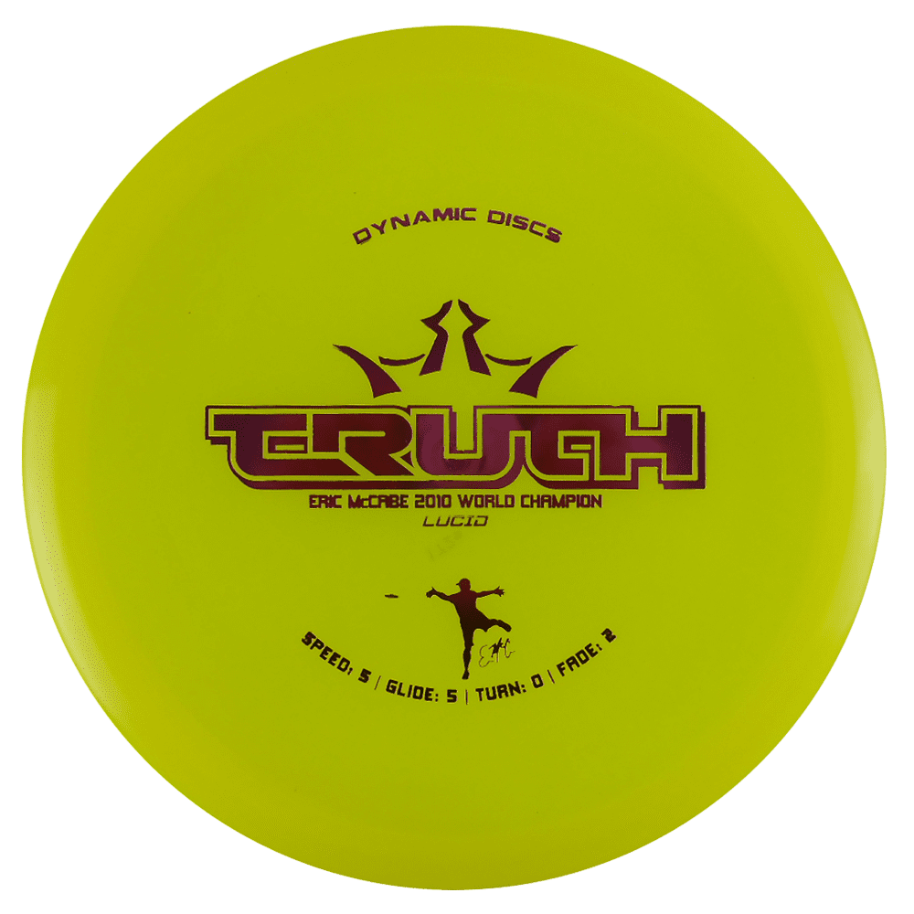 Dynamic Discs Lucid Truth 173-176g Midrange Golf Disc [Colors may vary] 173-176g by Dynamic Discs