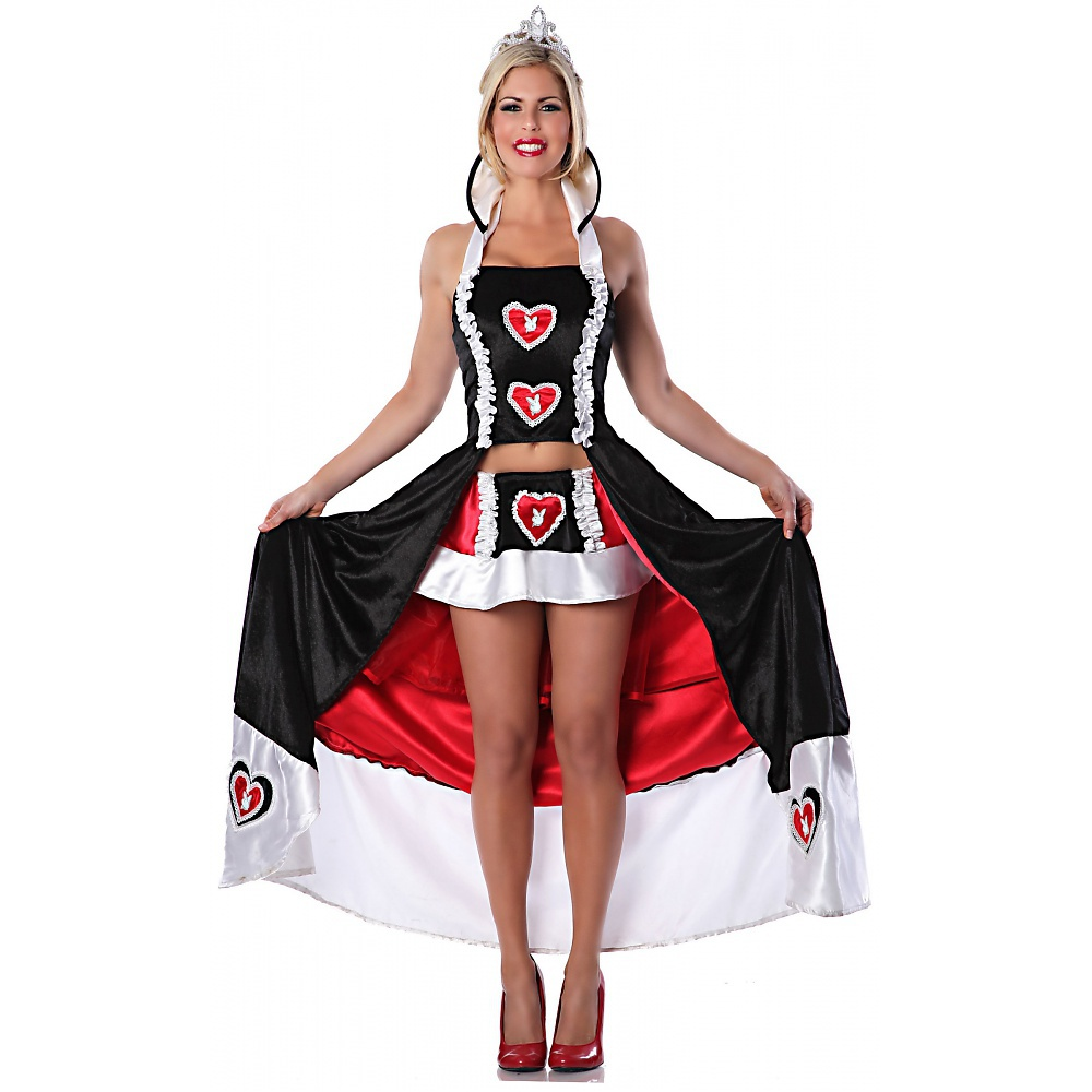 Playboy Queen of Bunnies Adult Costume - Medium/Large