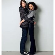 McCall's Pattern Misses' and Men's Tops and Jacket, XM (S, M, L)