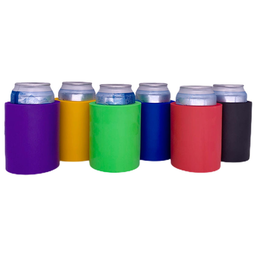 s 2, Black Blank Thick FoamOld School Style Can Cooler