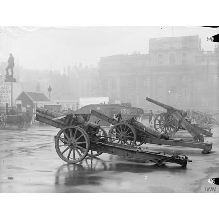 - LAMINATED POSTER The War Bonds Appeal, 1914-1918 Tank and war trophies on view in Trafalgar Square as part of the war Poster Print 24 x 36