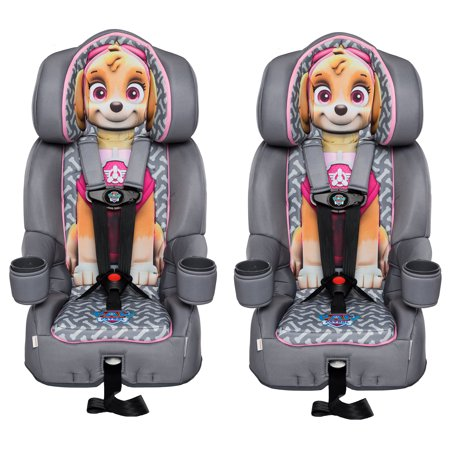 KidsEmbrace Nickelodeon Paw Patrol Skye Harness Booster Car Seat 2 Pack