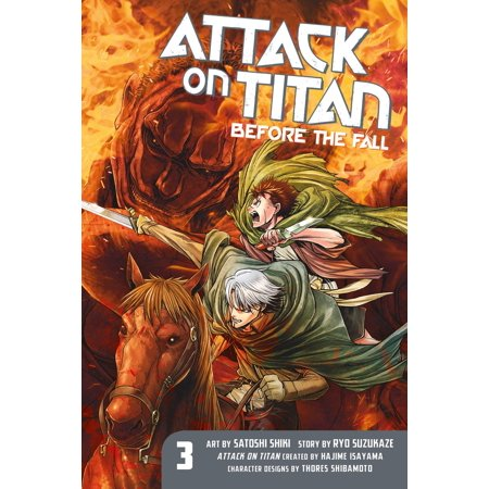 Attack on Titan: Before the Fall 3 (Attack On Titan A Choice With No Regrets)