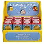 Prayer Cube-Children's Prayer Cubes W/Display & Gift Box (Pack of 24)