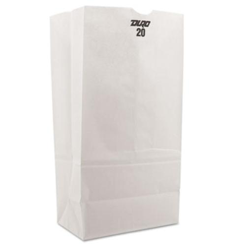 VALUE BRAND SOS White Bag - 20 lb Capacity - 500 Count - By Duro Hilex Poly Llc