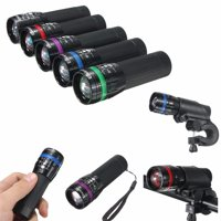 2000LM Q5 3 Modes LED Flashlight Bike Bicycle Front Light Torch Headlamp with Bike Torch Mount Clamp