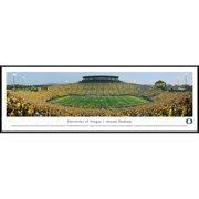 "Oregon Ducks 13"" x 40"" Stadium Standard Frame Panorama -"