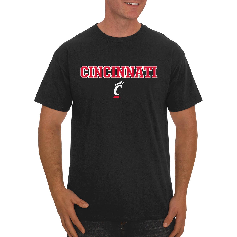 NCAA Cincinnati Bearcats Big Men's Classic Cotton T-Shirt
