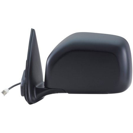 70046T - Fit System Driver Side Mirror for 00-02 Toyota 4 Runner, black, foldaway, Power
