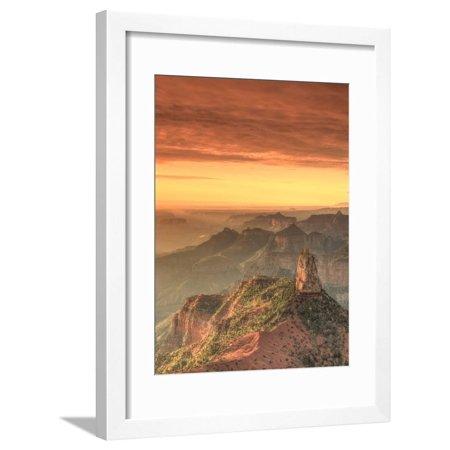 USA, Arizona, Grand Canyon National Park, North Rim, Point Imperial Framed Print Wall Art By Michele Falzone Grand Canyon Arizona Framed
