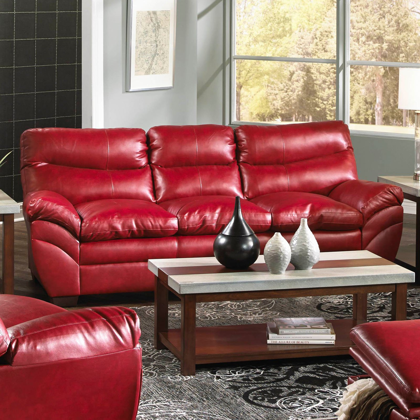 : simmons bonded leather sectional - Sectionals, Sofas & Couches
