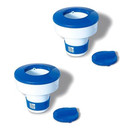 Reagent Dispenser (Swimline Hydrotools 8725 Pool Adjustable Floating Chlorine Dispenser, 2-Pack )