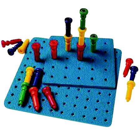 Big Little Pegboard, Perfect for young hands and minds By Lauri Ship from US