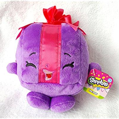 NEW! Shopkins Miss Pressy Bean Plush