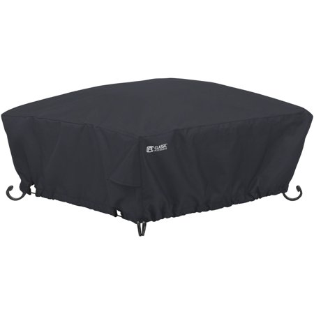 Pit Cover - Classic Accessories Square Fire Pit Patio Storage Cover