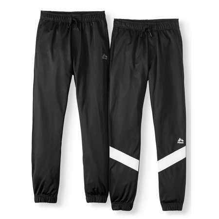 RBX Athletic Tricot Jogger Pants, 2-Pack (Little Boys & Big Boys)