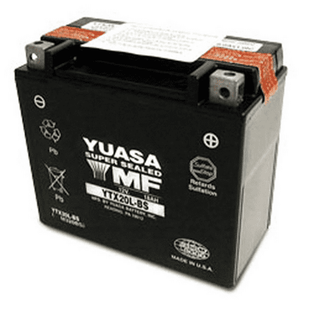 YUASA YTX20L-BS MAINTENANCE FREE 12 VOLT - Civic Battery