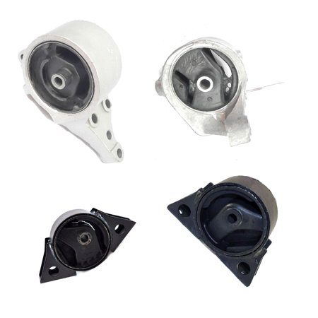 Engine Motor and Transmission Mount 6345 6346 6342 6343 For 1993-2001 Nissan Altima 2.4L Auto 1993 1994 1995 1996 1997 1998 1999 2000 2001