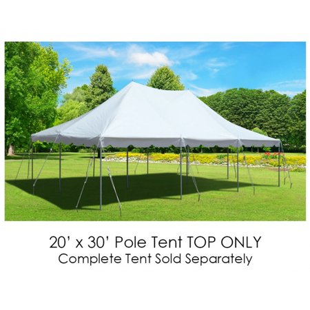 Party Tents For Sale 20x30 >> Party Tents Direct 20x30 Outdoor Wedding Canopy Event Pole Tent Top Only White