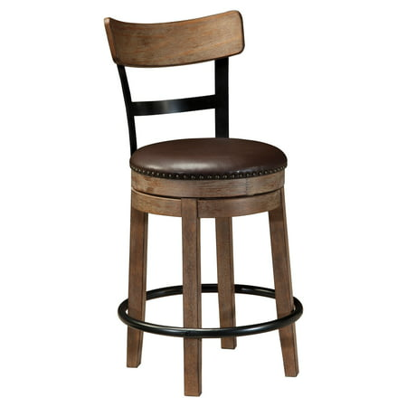 Signature Design by Ashley Pinnadel Wood Counter Height Stools