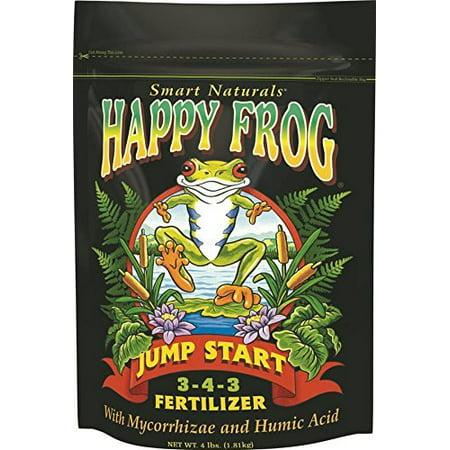 Fox Farm FX14032 4-Pound FoxFarm Happy Frog Jump Start Fertilizer (Fox Farm Nutrients)