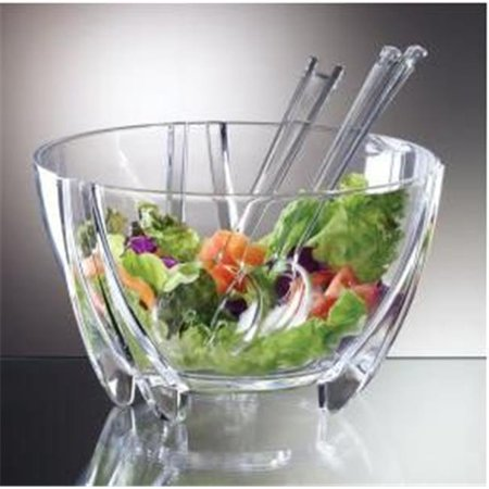 - Illusions Salad Bowl Servers 6Qt Shatterproof -