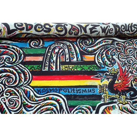 LAMINATED POSTER Wall Painting Art Streetart The Idea Of Berlin Poster Print 24 x 36 - Ideas Of Face Painting