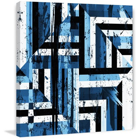 Undefined Movement  Painting Print On Wrapped Canvas